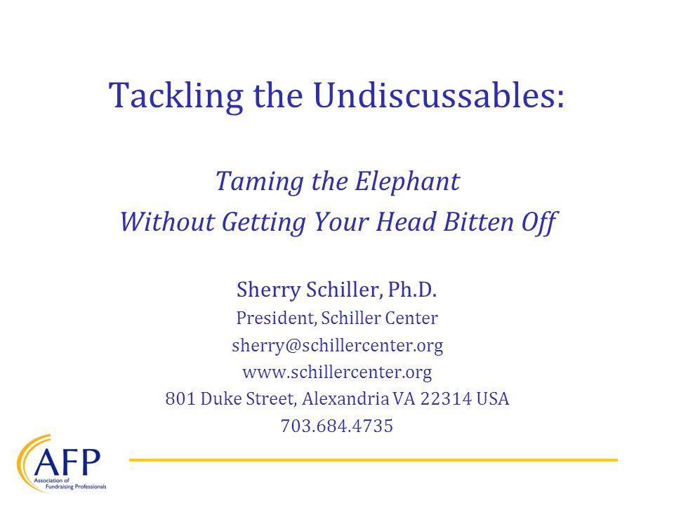 2.Leadership Elephants Failure to lead. Wishy-washy.