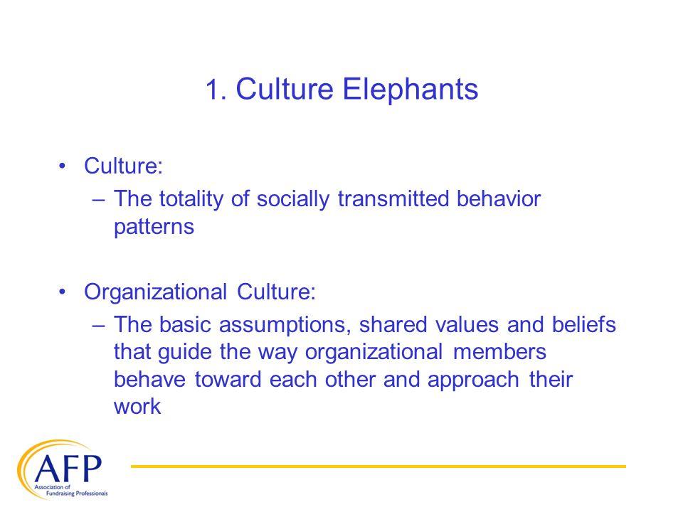 1. Culture Elephants Understanding Culture Styles