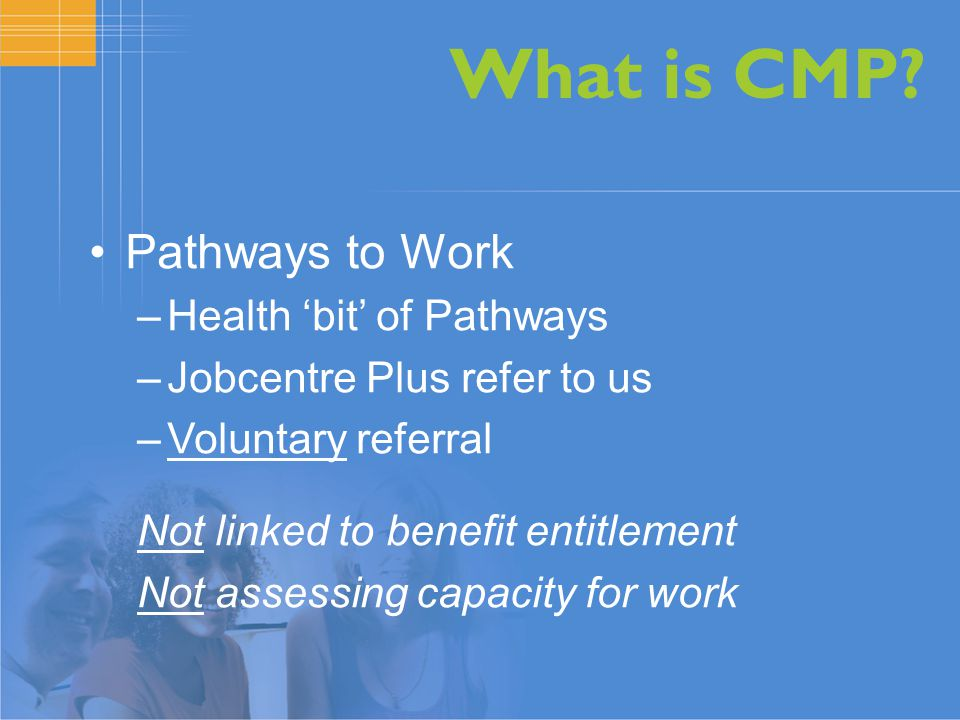 What is CMP.