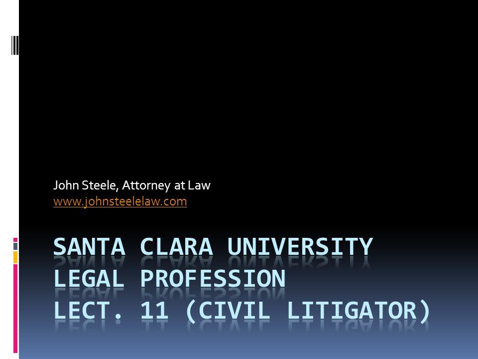 John Steele, Attorney at Law www.johnsteelelaw.com
