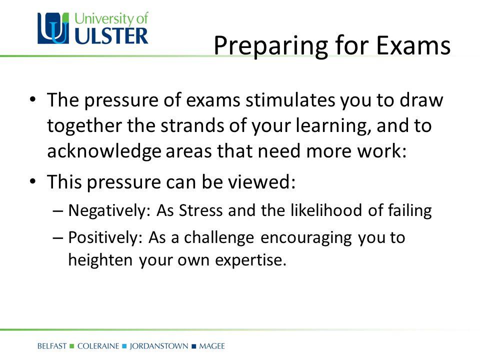 ADVANCED PREPARATION FOR EXAMS