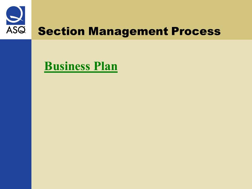 Section Management Process Business Plan