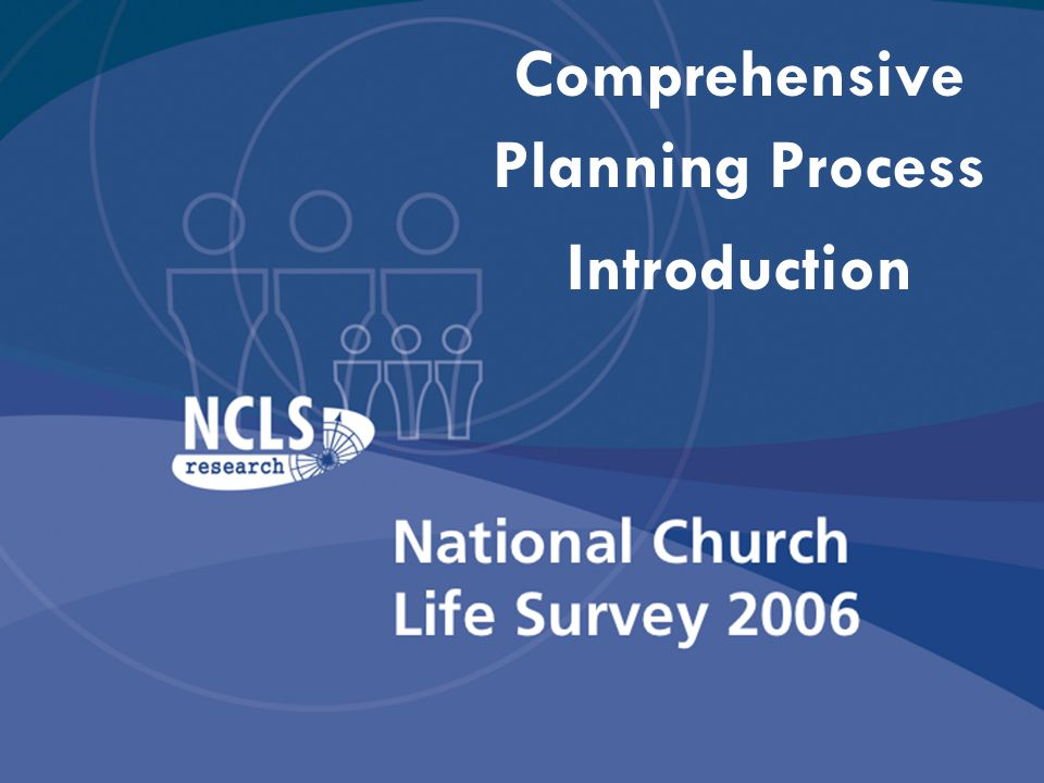 Comprehensive Planning Process Introduction