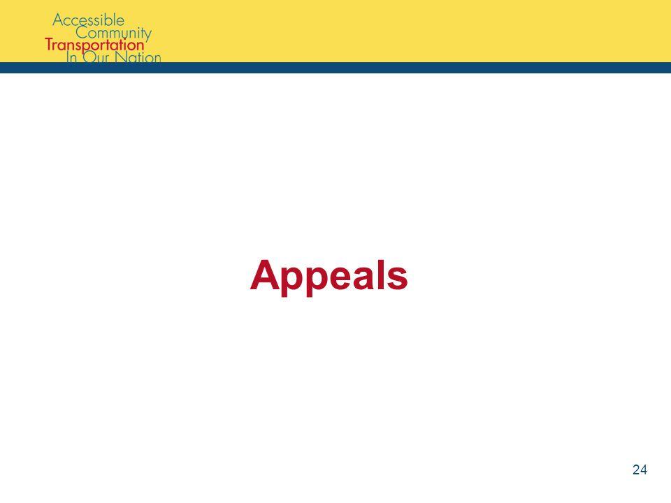 Appeals 24
