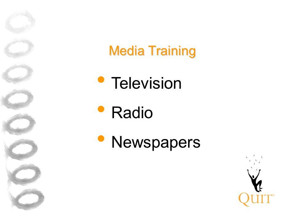 Media Training Television Radio Newspapers