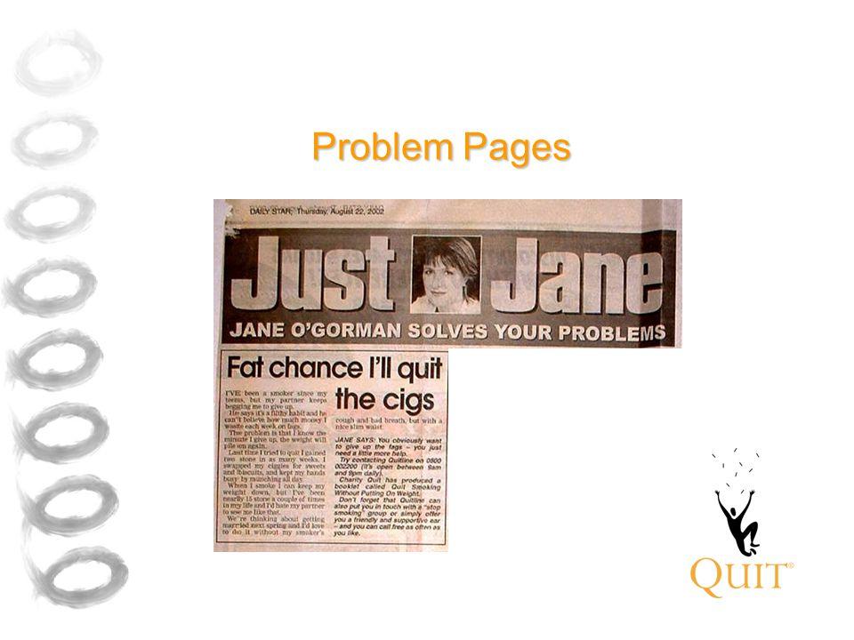 Problem Pages