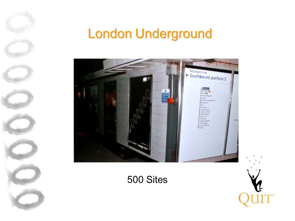 London Underground 500 Sites