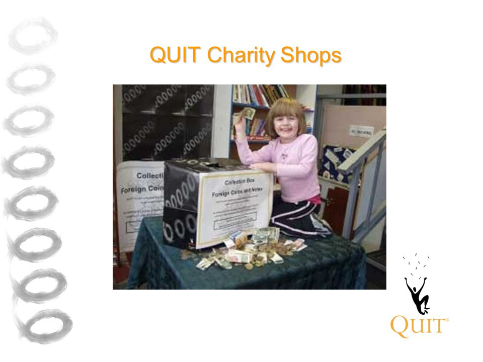 QUIT Charity Shops