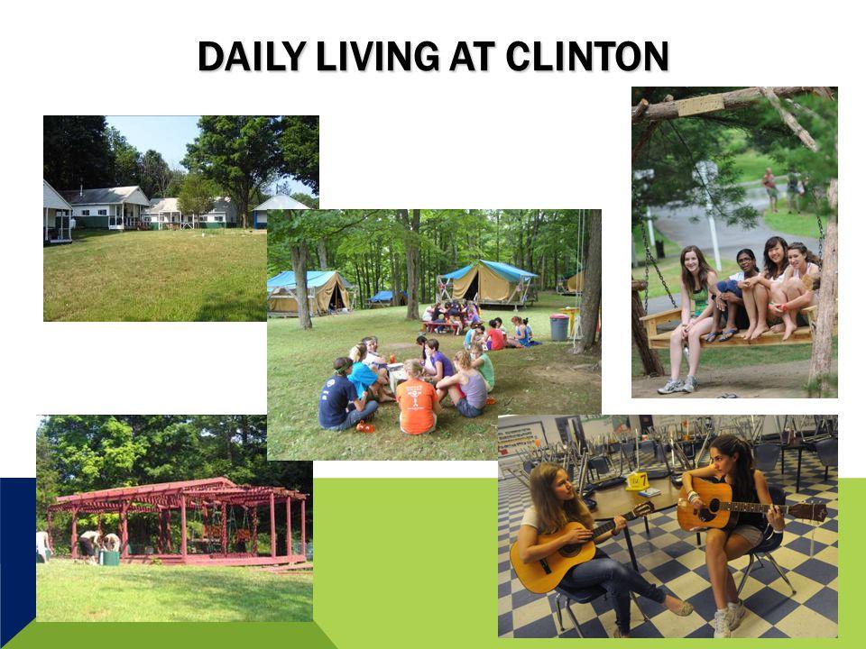 DAILY LIVING AT CLINTON