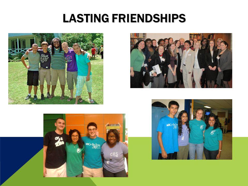 LASTING FRIENDSHIPS