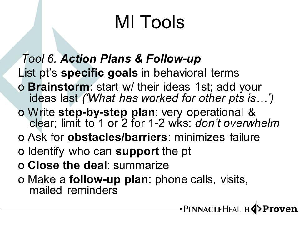 MI Tools Tool 6.