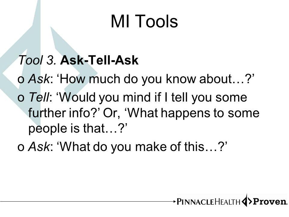 MI Tools Tool 3.