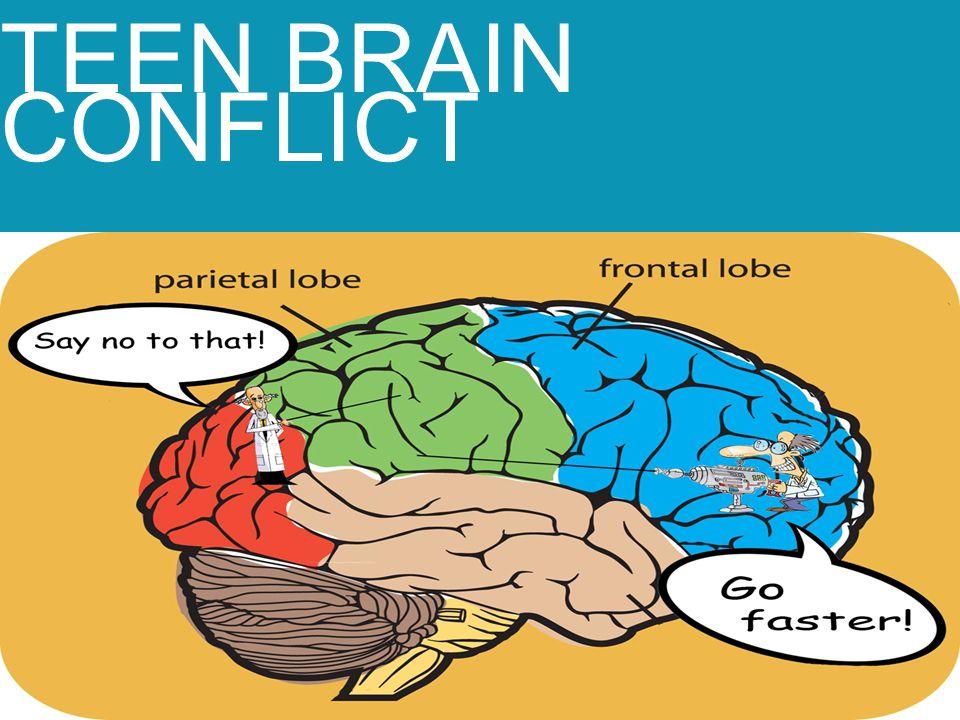 TEEN BRAIN CONFLICT