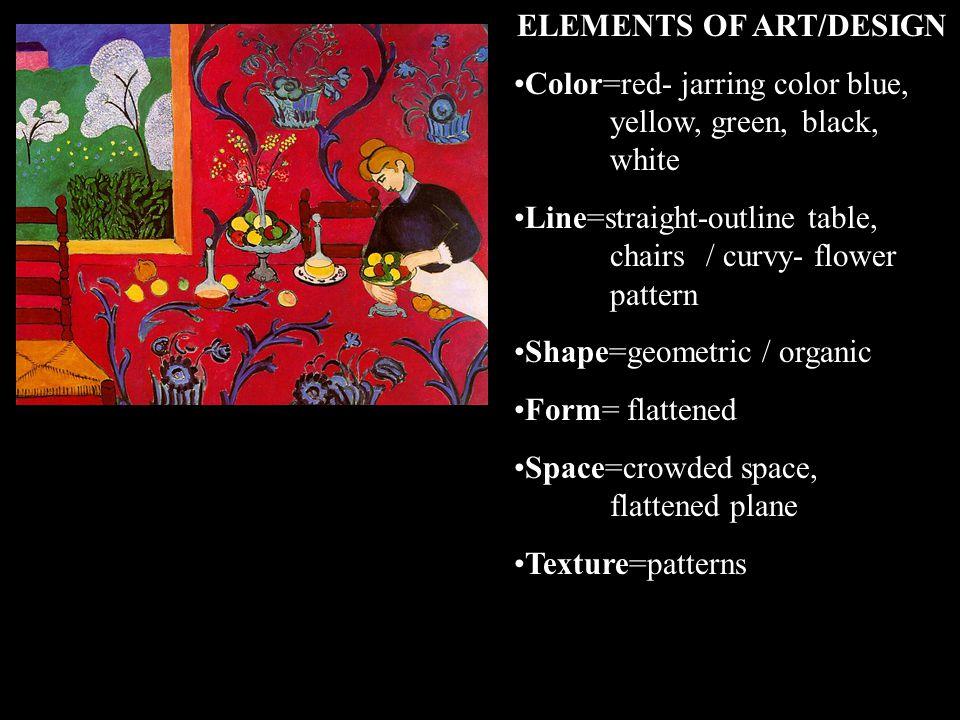 PRINCIPLES OF ART/DESIGN Unity= Balance= Contrast= Emphasis= Movement= Rhythm= Proportion=