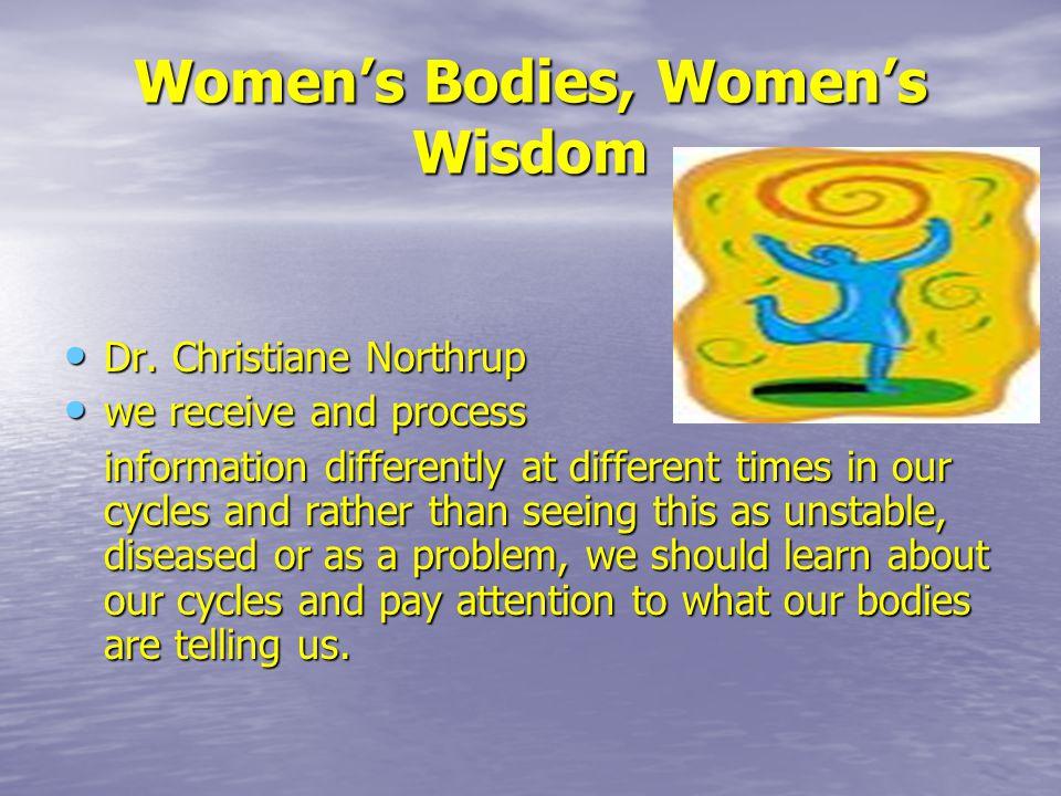 Women's Bodies, Women's Wisdom Dr.Christiane Northrup Dr.
