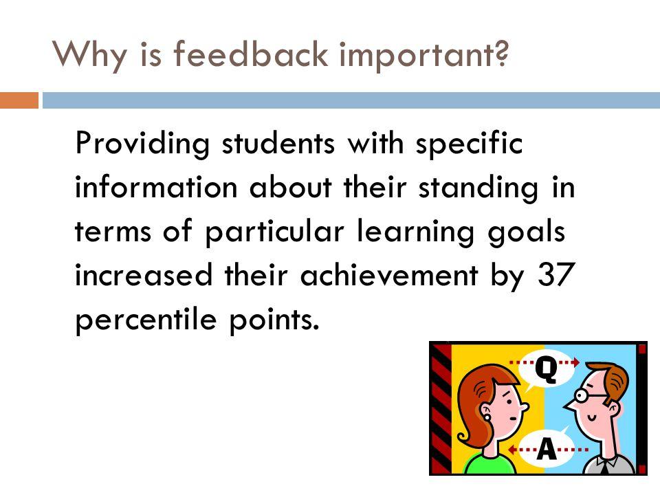 Great resource on feedback