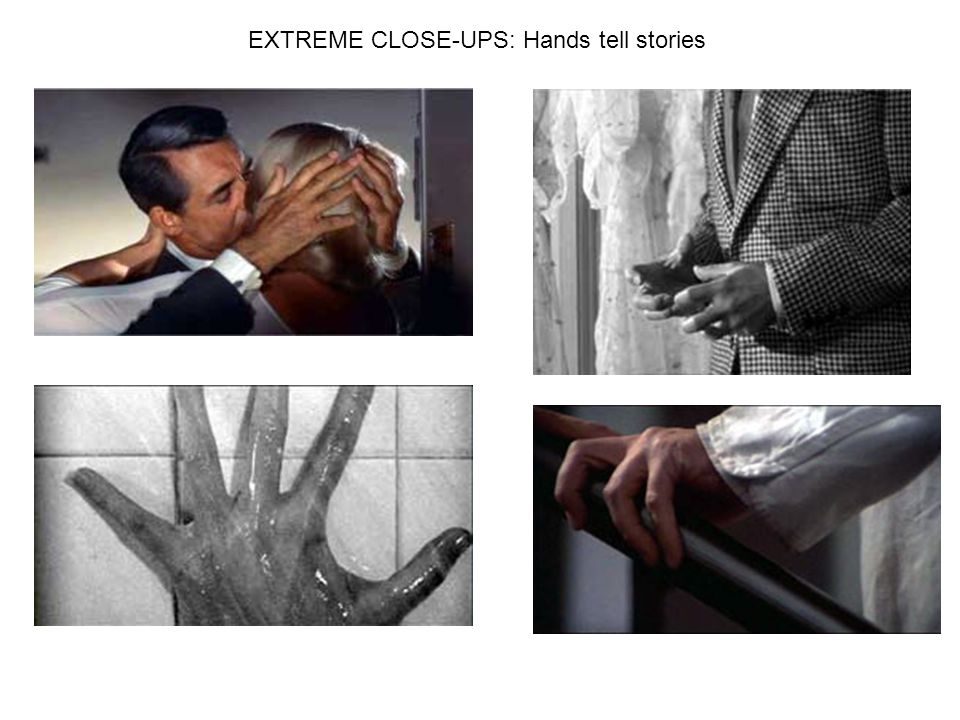 EXTREME CLOSE-UPS: Hands tell stories