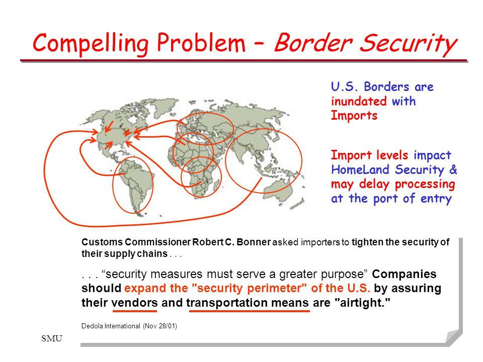 SMUCSE 8394 Customs Commissioner Robert C.