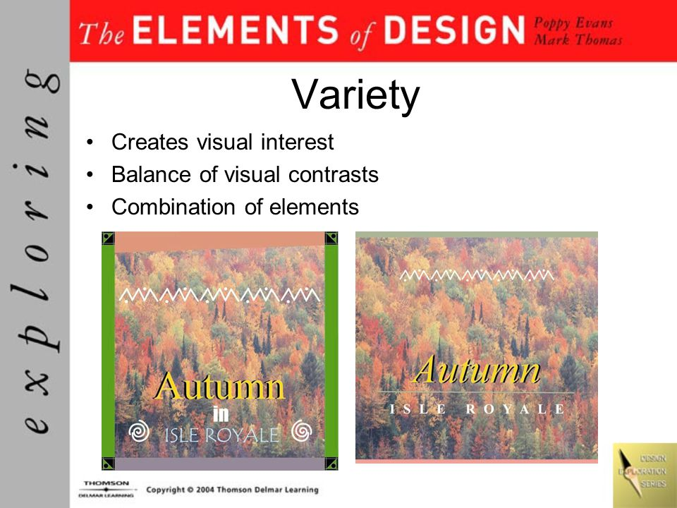 Space Area activated by visual elements Shape/space relationships –Figure/ground –Form/counterform –Positive/negative