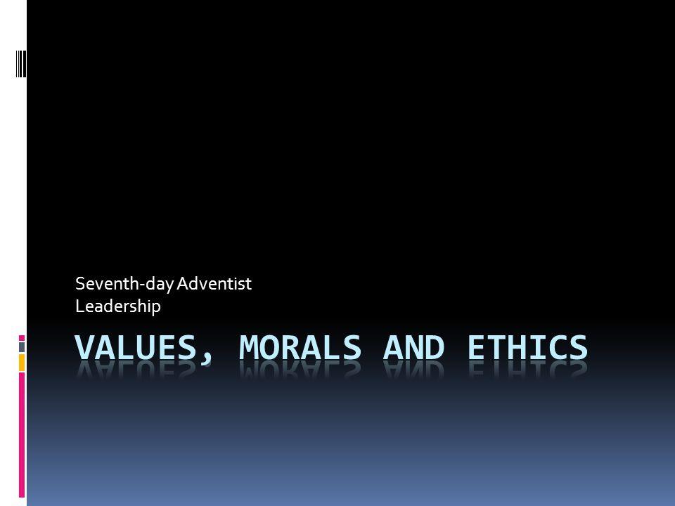 Seventh-day Adventist Leadership