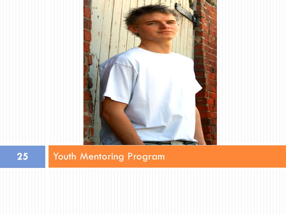 Youth Mentoring Program 25