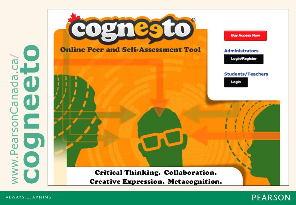 www.PearsonCanada.ca/ cogneeto