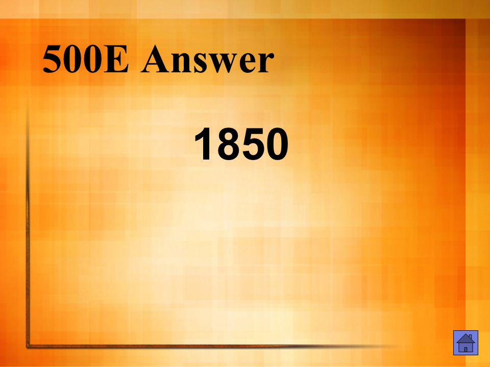 500E Question When was The Scarlet Letter published?