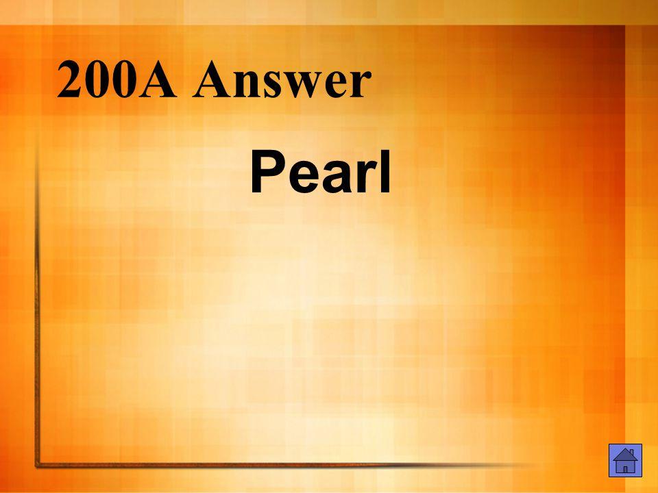 200E Answer In a Puritan community