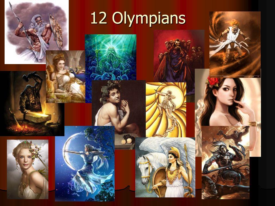 12 Olympians