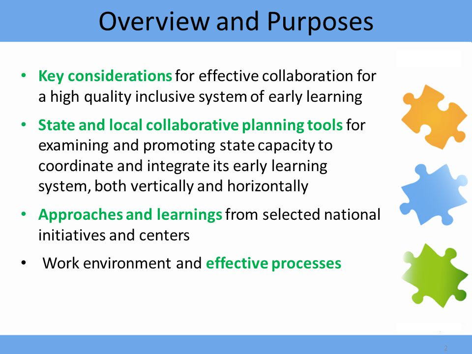 More Accomplishments Developed stronger partnerships with state institutes of higher education to embed content into curricula for producing a larger pool of practitioners with background knowledge in inclusive early childhood practices Developed a Web-based training calendar supported by all early care and education agencies to coordinate training opportunities 23
