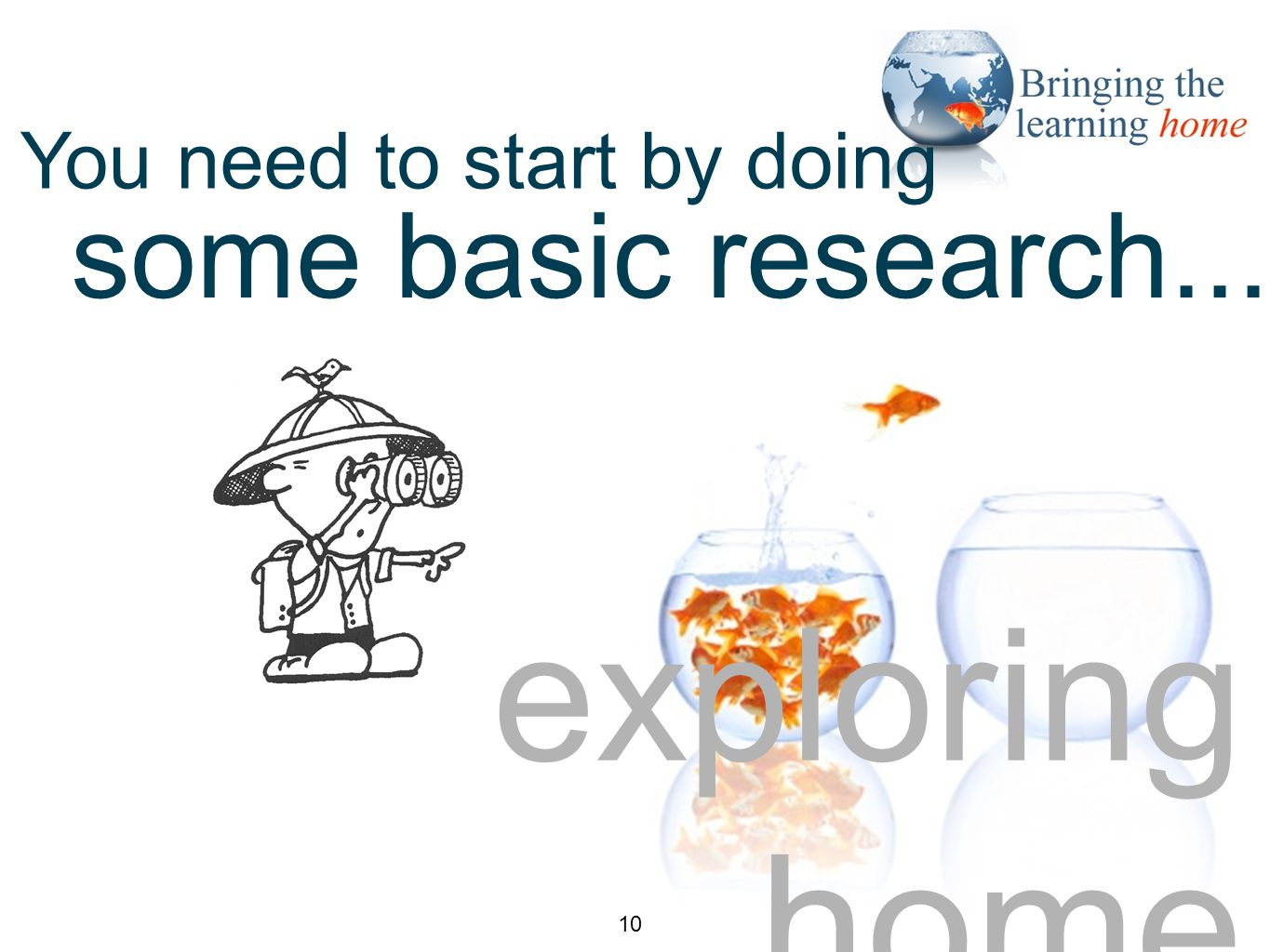 exploring home some basic research... You need to start by doing 10