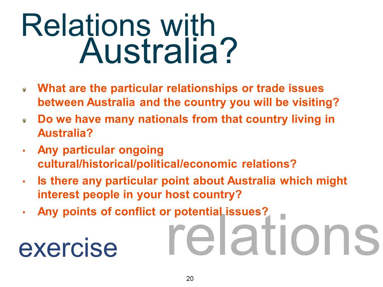 relations Australia.