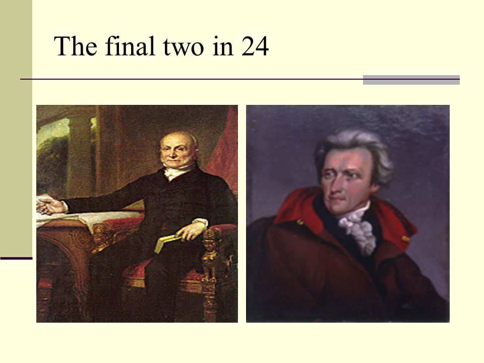 The final two in 24