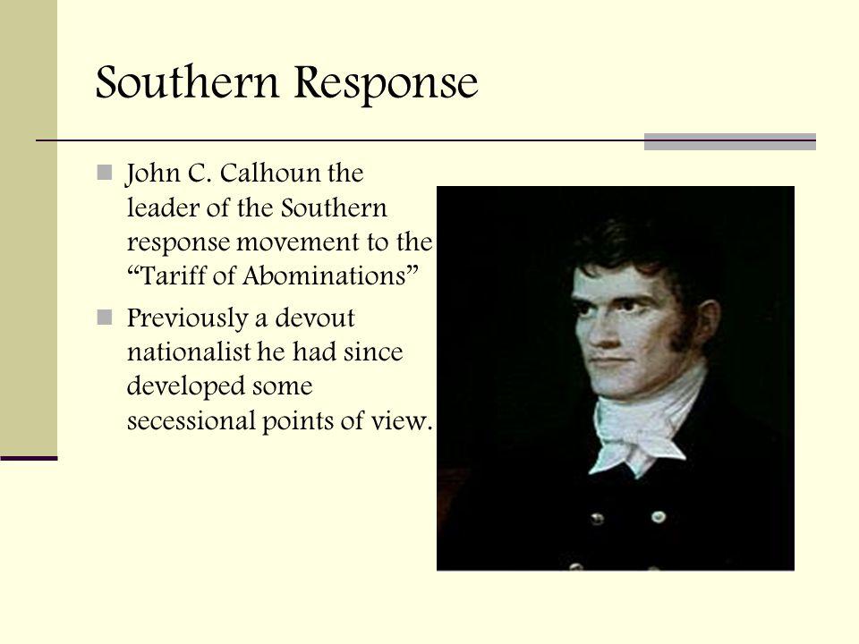 Southern Response John C.
