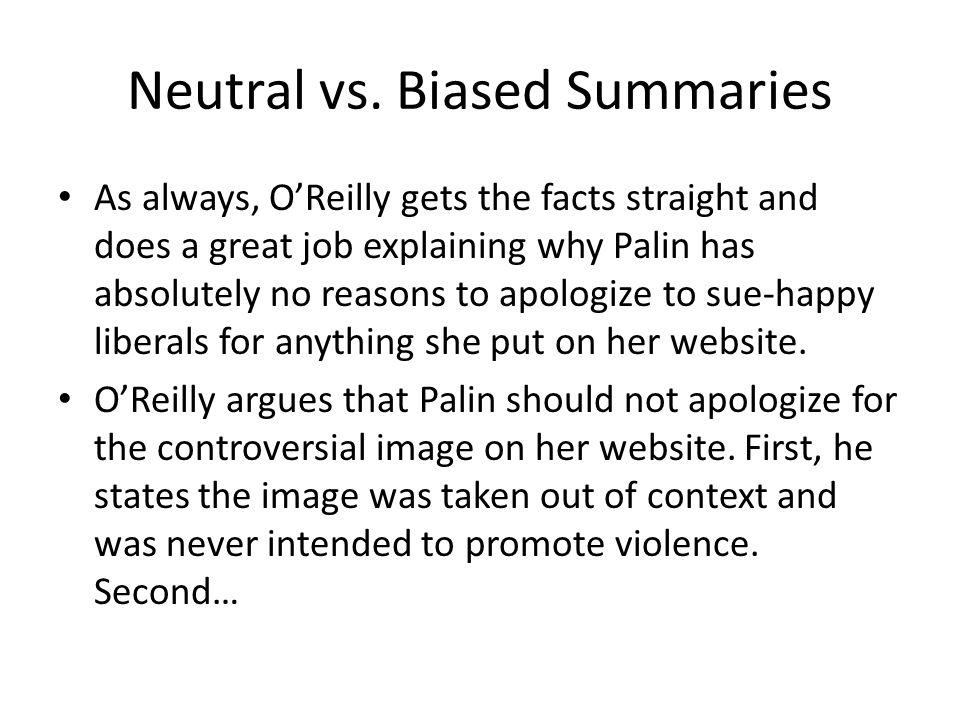 Neutral vs.