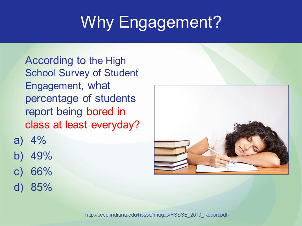 Why Engagement.