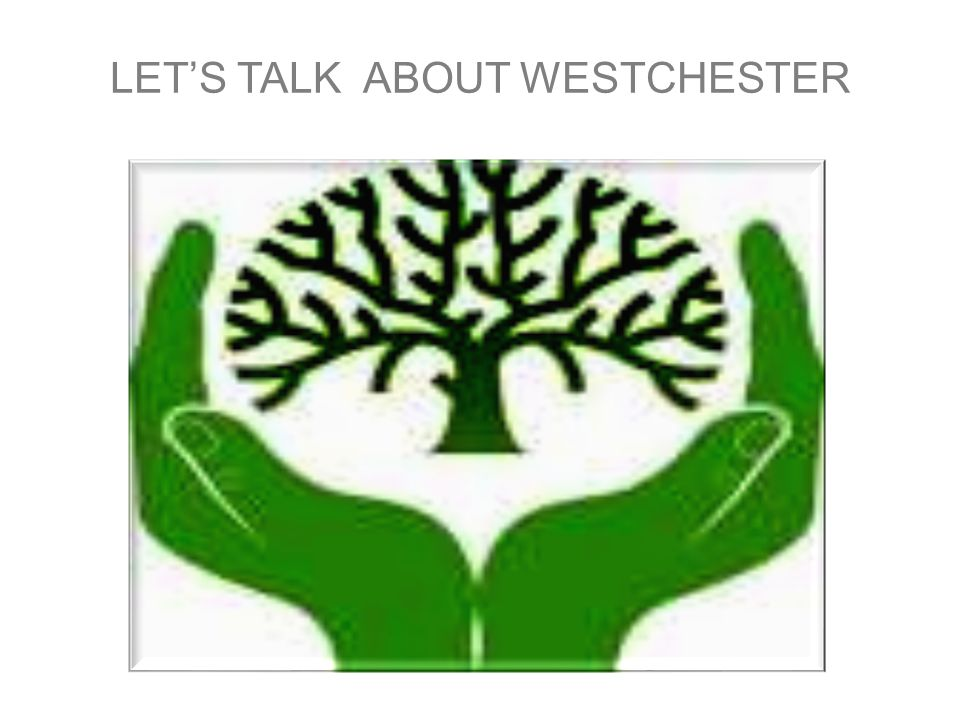 LET'S TALK ABOUT WESTCHESTER