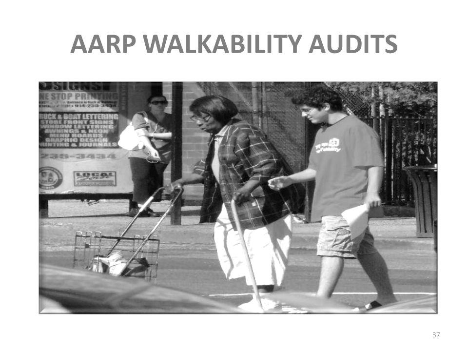 AARP WALKABILITY AUDITS 37