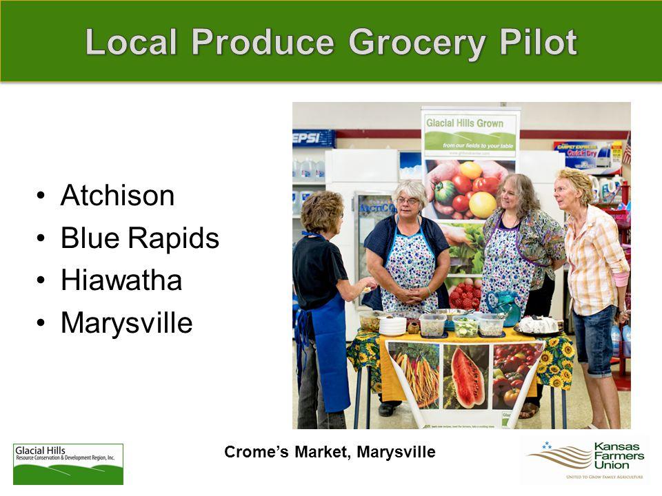 Crome's Market, Marysville Atchison Blue Rapids Hiawatha Marysville