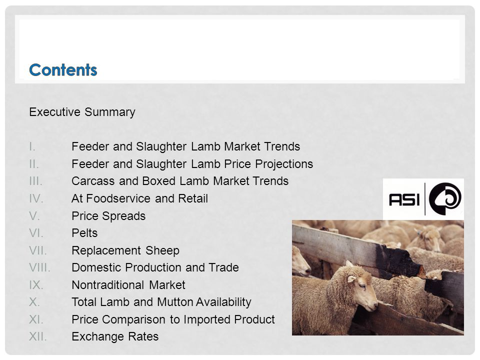 LMIC Forecasted that Tight Supplies will Likely Support Prices LMIC's late September forecasts: Q4 national slaughter lambs by carcass weight in direct trade could range from $245 to $250 per cwt.