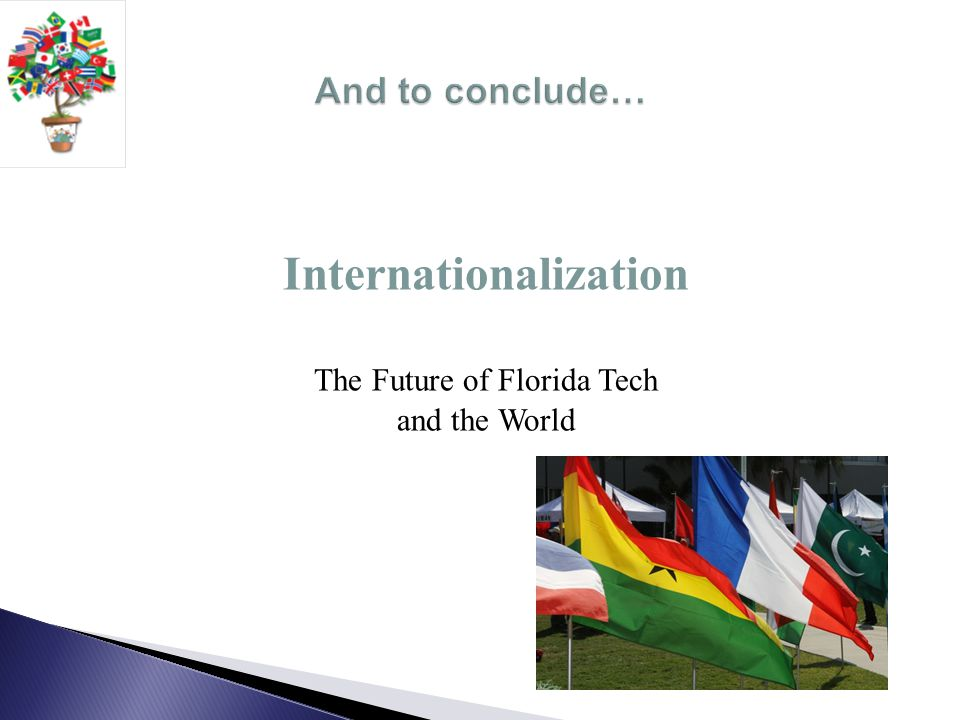 Internationalization The Future of Florida Tech and the World