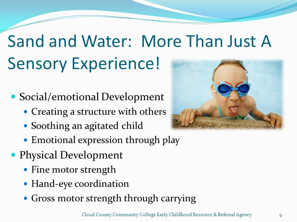 Sand and Water: More Than Just A Sensory Experience.