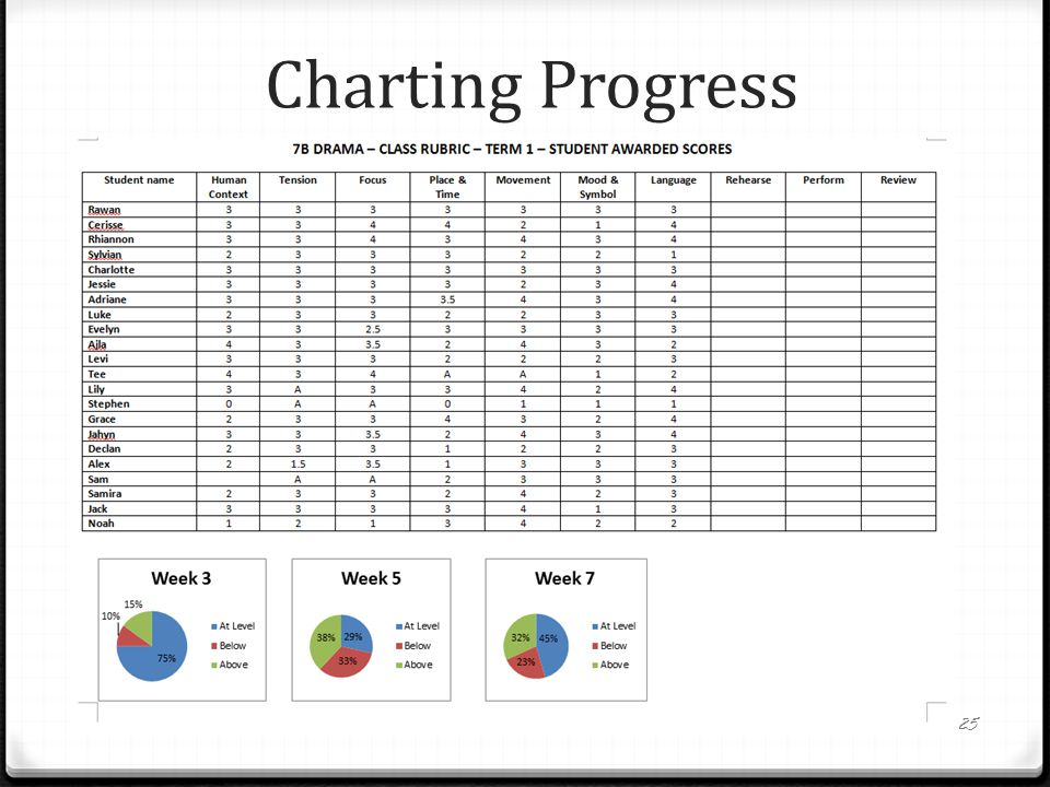 Charting Progress 25