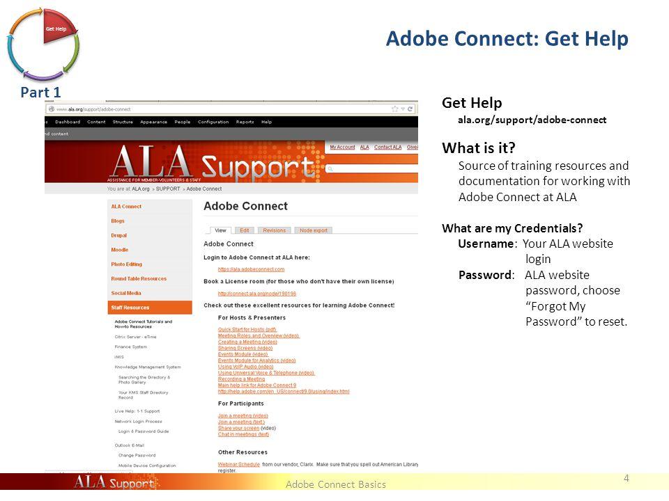 Adobe Connect Basics Event Setup 25 Event v. Meeting Setup Event