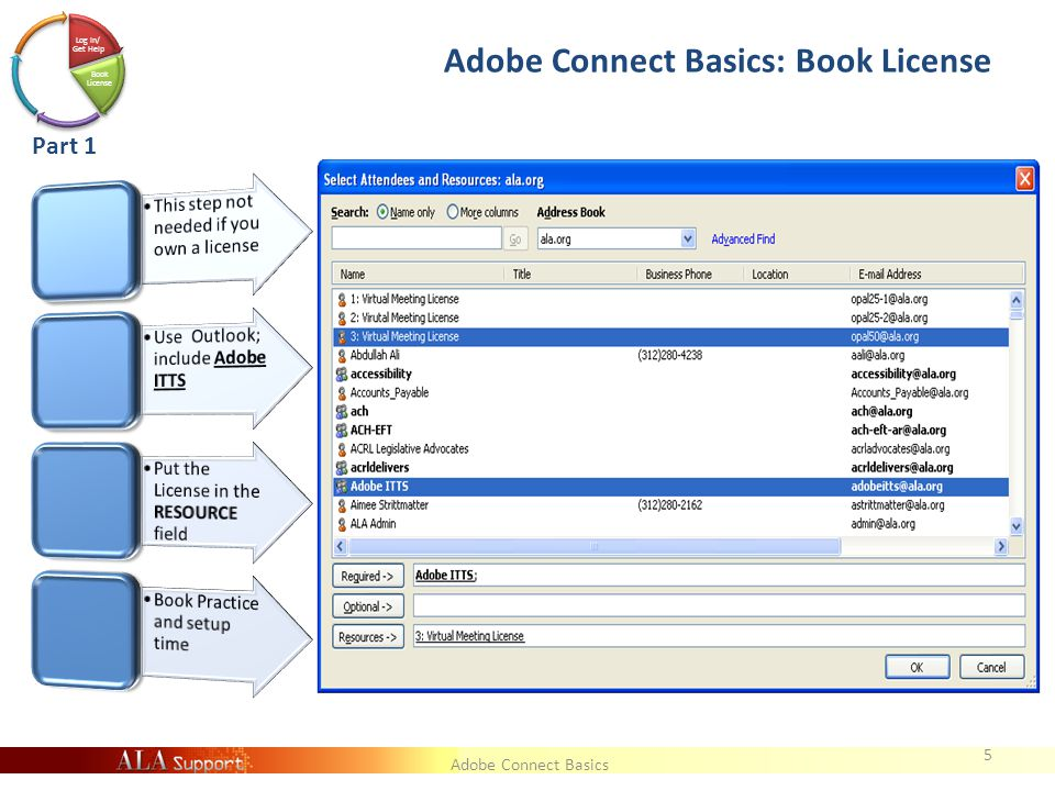 Adobe Connect Basics Meeting or Event.