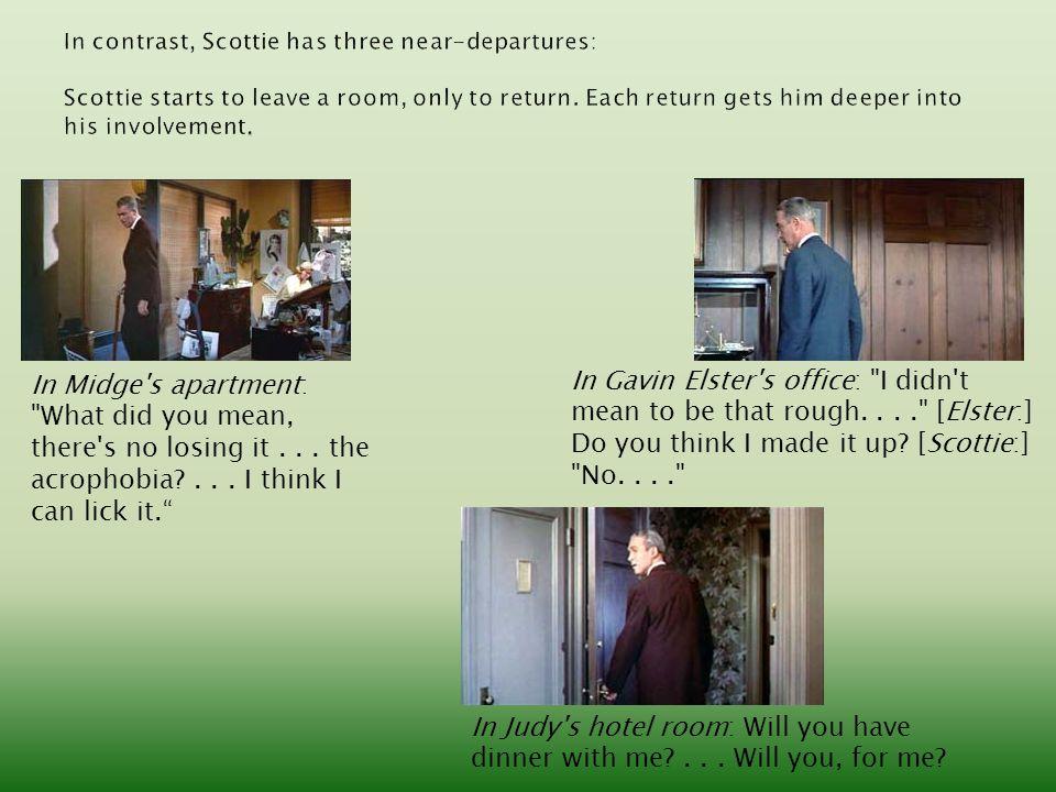 In Midge's apartment: