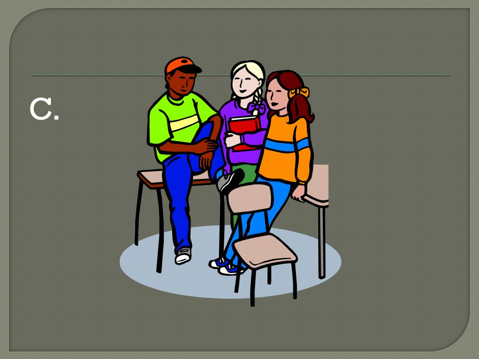 Restaurant Scene In groups of three you are going to prepare a conversation to present to the class.