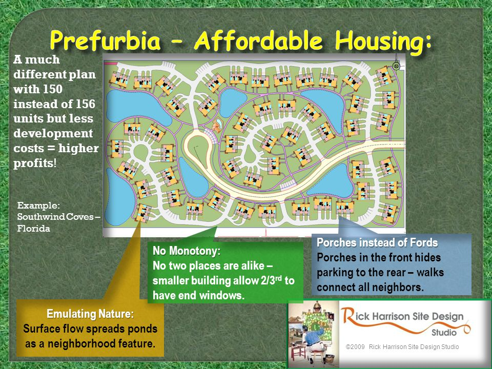 A much different plan with 150 instead of 156 units but less development costs = higher profits.