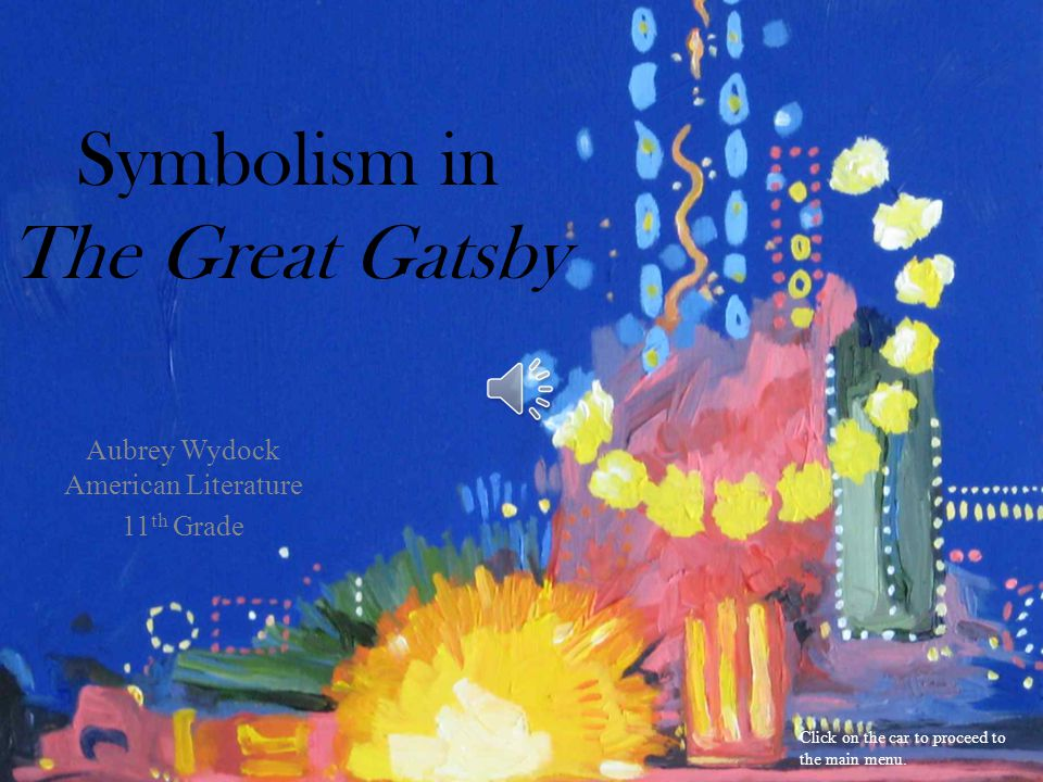 Review Question Which of the following best represents the symbol of Gatsby's love for Daisy.