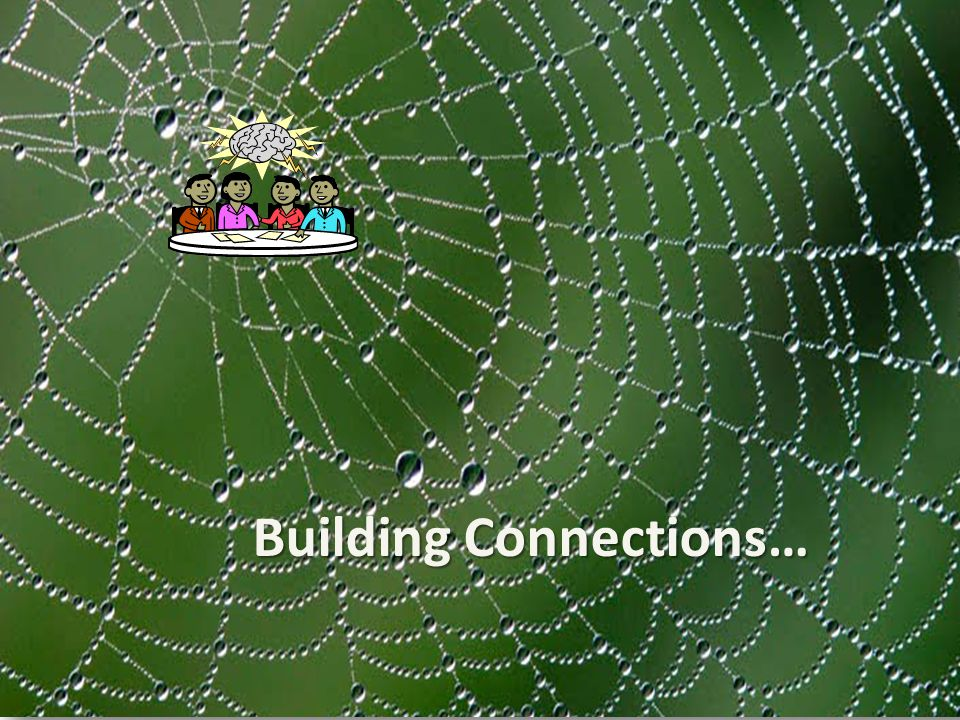 Building Connections…